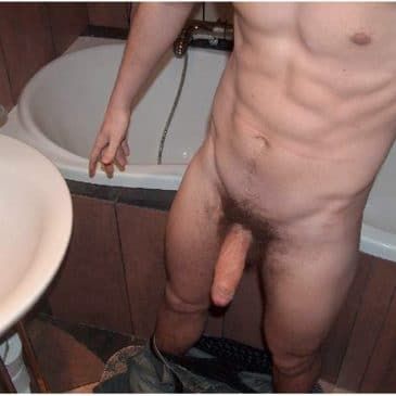 Hottie Hunk Naked In The Bathroom