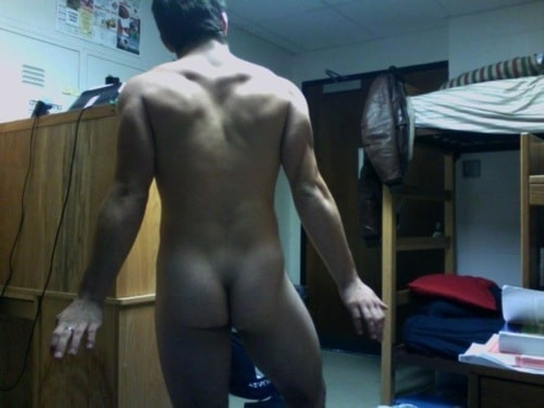 Webcam Boy Showing Off His Ass